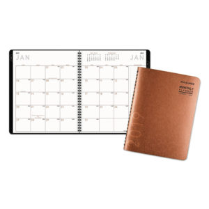 AT-A-GLANCE® Contemporary Large Monthly Copper Planner