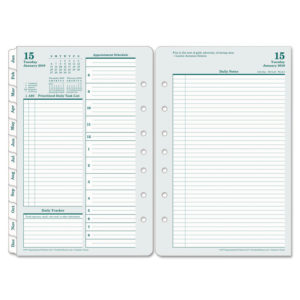 FranklinCovey® Original Dated Two-Page-per-Day Planner Refill