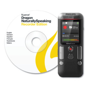Philips® Voice Tracer 2700 Digital Recorder with Speech Recognition Software