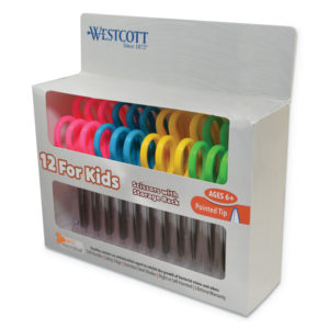 Westcott® Kids' Scissors with Antimicrobial Protection