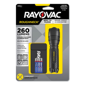 Rayovac® LED Aluminum Flashlight