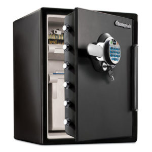 Sentry® Safe Water-Resistant Fire-Safe® with Biometric