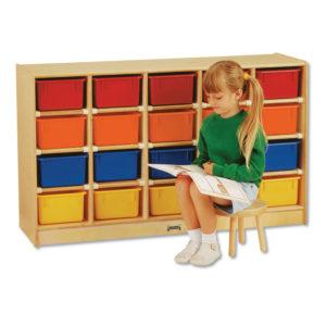 Jonti-Craft Tray Mobile Cubbie