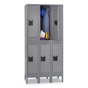 Tennsco Double Tier Locker