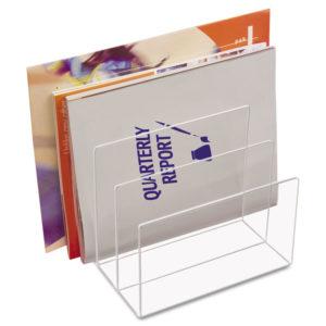 Kantek Clear Acrylic Desk File