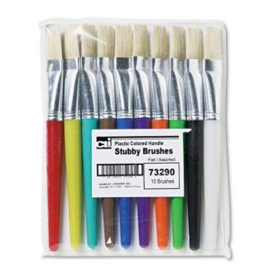 Charles Leonard® Stubby Brush Set