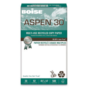 Boise® ASPEN® 30 Multi-Use Recycled Paper