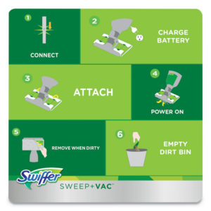 Swiffer® Sweep + Vac™