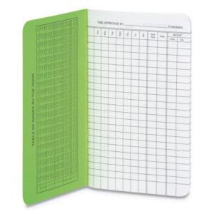 Wilson Jones® Foreman's Time Book