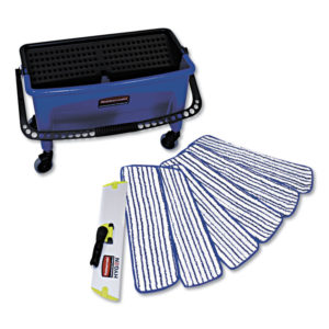 Rubbermaid® Commercial Microfiber Floor Finishing System