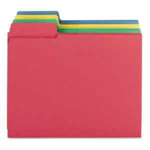 Smead® 3-in-1 SuperTab® Section Folders
