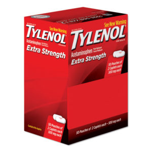 Tylenol® Extra Strength Caplets—Two Pack