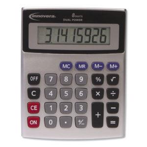 Innovera® 8-Digit Desktop Memory Calculator