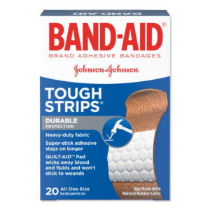 BAND-AID® Flexible Fabric Tough-Strips™ Adhesive Bandages