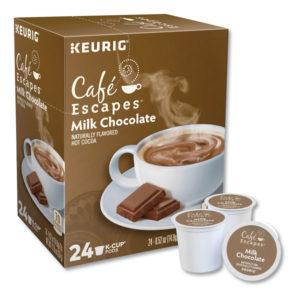 Café Escapes® Milk Chocolate Hot Cocoa K-Cups®