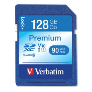 Verbatim® Premium SDXC Card UHS-1