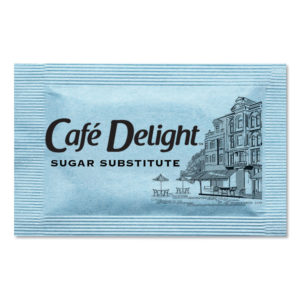 Café Delight Blue Sweetener Packets