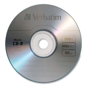 Verbatim® CD-R Music Recordable Disc