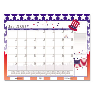 House of Doolittle™ Earthscapes™ Seasonal Desk Pad Calendar