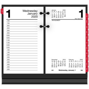 AT-A-GLANCE® Desk Calendar Refill with Tabs