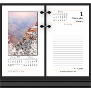 AT-A-GLANCE® Photographic Desk Calendar Refill