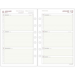 AT-A-GLANCE® Day Runner® Weekly Planning Pages Refill