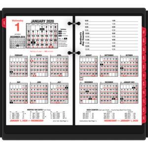 AT-A-GLANCE® Burkhart's Day Counter® Desk Calendar Refill
