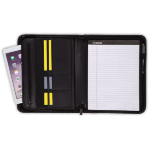 Samsill® Professional Zipper Padfolio with iPad® Pocket
