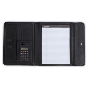 Samsill® Professional Tri-Fold Padfolio™ with Calculator
