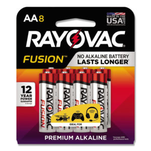 Rayovac® Fusion Performance Alkaline Batteries