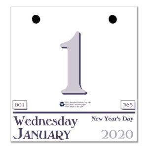House of Doolittle™ 100% Recycled Today Wall Calendar Refill