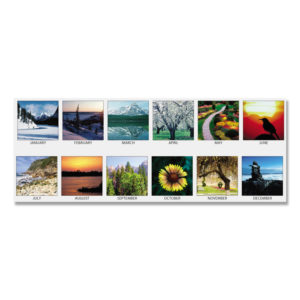 House of Doolittle™ Earthscapes™ Scenic Desk Pad Calendar