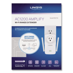 LINKSYS™ AC1200 AMPLIFY Dual-Band WiFi Extender
