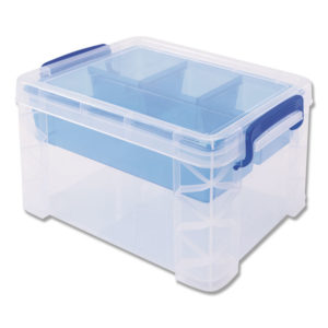 Advantus Super Stacker® Divided Storage Box