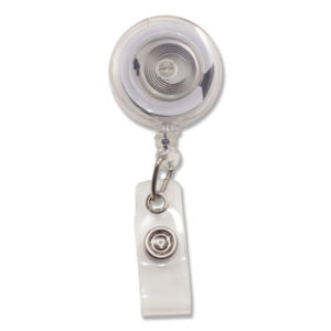 Advantus Translucent Retractable ID Card Reel