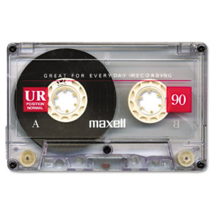Maxell® Dictation and Audio Cassette