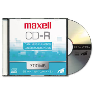Maxell® CD-R Recordable Disc