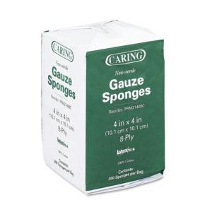 Medline Caring® Non-Sterile Gauze