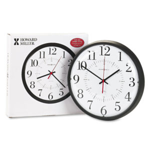 Howard Miller® Alton Auto Daylight Savings™ Wall Clock
