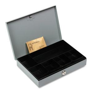 SteelMaster® Locking Heavy-Duty Steel Low-Profile Cash Box