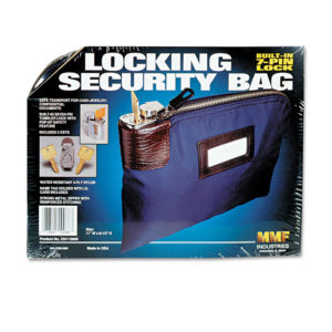 MMF Industries™ Seven-Pin Security Bag