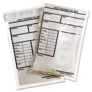 MMF Industries™ Cash Transmittal Bags