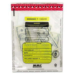 MMF Industries™ FRAUDSTOPPER® Tamper-Evident Deposit Bags