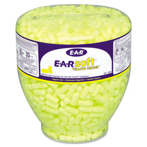 3M™ E·A·Rsoft™ Yellow Neon™ Earplug Refill for One Touch™ Dispensers