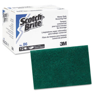 Scotch-Brite™ PROFESSIONAL Heavy-Duty Scouring Pad 86