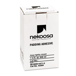 Nekoosa Fan-Out Padding Adhesive