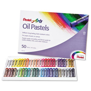 Pentel® Oil Pastel Set With Carrying Case