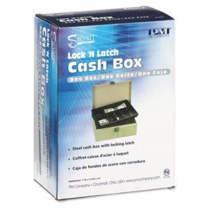 PM Company® SecurIT® Lock'n Latch Cash Box