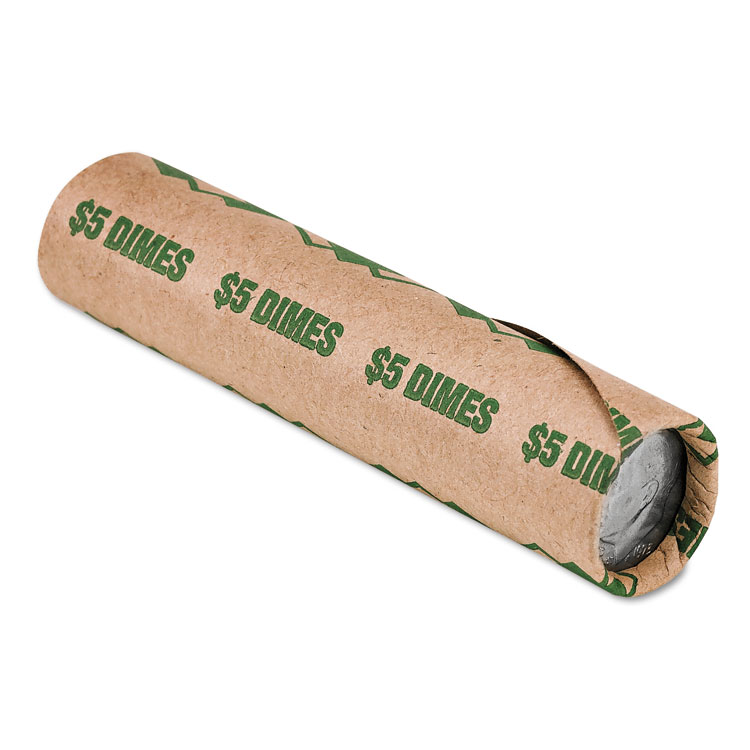 PM Company® Preformed Paper Tubular Coin Wrappers