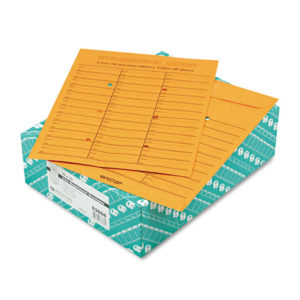 Quality Park™ Brown Kraft Redi-Tac™ Box-Style Interoffice Envelope